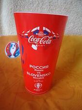 UEFA Euro 2016 Coca Cola Fan Becher Russland - Slowakei Match 13