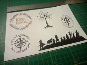 Lord of the rings lotr tolkien Stickers