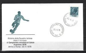 Soccer 1978 C88 used Cover Italy Football FIFA