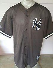 New York Yankees BROWN Jersey Size XXL Majestic