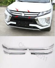 Chrome Front Grille Around Cover Trim for 2017-2019 Mitsubishi Eclipse Cross 4PS