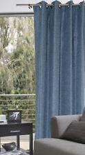 Ösenschal 140x245cm blau Dekoschal Gardine Vorhang Esparanza
