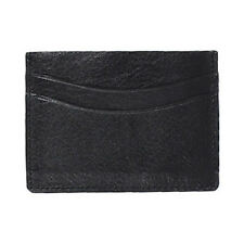 Mens Florsheim Black Slim Card Holder [50070]