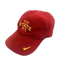 Iowa State Cyclones Nike Dri Fit Hat Sideline NCAA Team Red Cap Sports