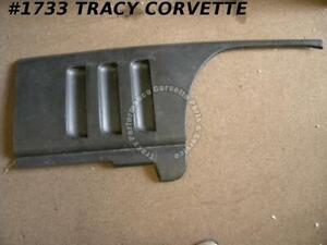 1965-1966 Corvette Black Glass RH Louver Fender Panel 3857526 NOS Fiberglass