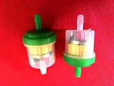 2 PCS FUEL FILTER KAWASAKI KX KLX BBR CRF ATV BUGGY GO CART PIT DIRT BIKE NEW
