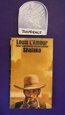 Vintage Louis L'Amour Western Paperback Shalako *ShipDeals* Build-A-Lot