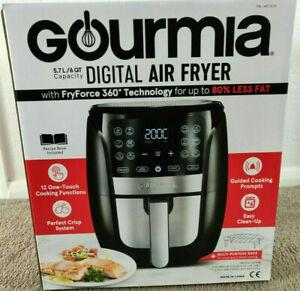 Gourmia Digital Air Fryer 5.7L Black GAF698 **BRAND NEW**