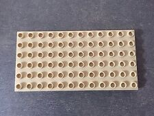 LEGO® Duplo Plate 6 x 12 Platte #4196 Tan Beige 6157 5609 5634 4686