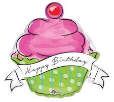 Jumbo Sweet Treats Cupcake  French Desserts Happy Birthday  Party Balloon