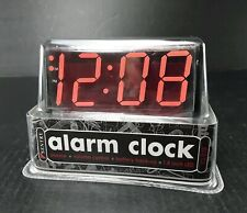 SENTRY Electric Alarm Clock~1.8 Inch LED  Snooze  Volume Control battery backup