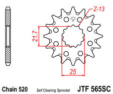 JT 13T Front Sprocket Yamaha DT/YZ 250, DT/MX/RT/YZ 360, DT/MX/YZ 400, TT500