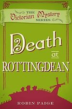 ROBIN PAIGE __ DEATH AT ROTTINGDEAN __ BRAND NEW __ FREEPOST UK
