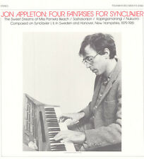Jon Appleton - Four Fantasies for Synclavier [New CD]