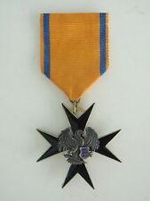 ESTONIA ORDER OF THE BLACK EAGLE KNIGHT GRADE. RARE VF+