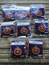 Nib Perler Little Makers Pumpkin - lot of 8