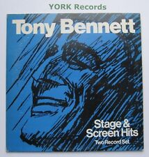 TONY BENNETT - Stage & Screen Hits - Excellent Con Double LP Record DBM 1001