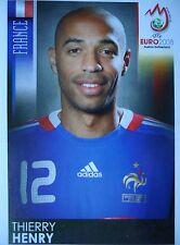 Panini 355 Thierry Henry Frankreich UEFA Euro 2008 Austria - Switzerland