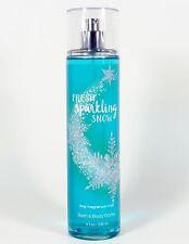 1 Bath & Body Works FRESH SPARKLING SNOW Fragrance Mist Spray SANDALWOOD MUSK