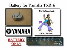 Battery for Yamaha TX816 MIDI Rack - Internal Memory Replacement Battery