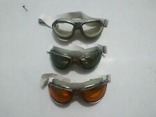 WW2 Reproduction AN-6530 Goggles w/ Amber Lenses
