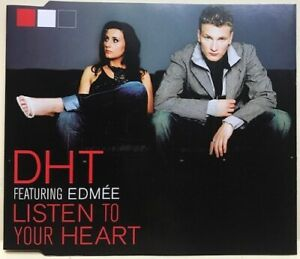 DHT: LISTEN TO YOUR HEART – 5 TRACK CD SINGLE, UNITING NATIONS, HIXXY, ROXETTE