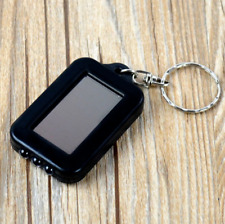 Mini Portable Solar Power 3 LED Light Keychain Keyring Torch Flashlight