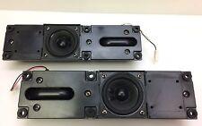 Sharp LC-26DA5U TV Speaker Set Left Right w Cables RSP-ZA106WJZZ, RSP-ZA107WJZZ