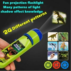 Toys For Boys 2-10 Year Old Kids Torch Projector Night Light Girls Xmas Gift QC