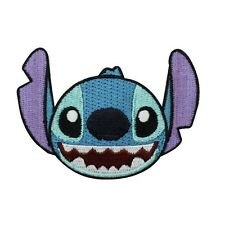 Disney Character Stitch Iron-On Patch Kids DIY Apparel Embroidery Craft Applique