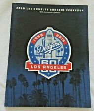 60th Anniversary Season Los Angeles Dodgers 2018 Yearbook