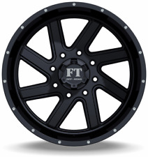 4 ~ 20x12 Full Throttle FT-1 Torque Satin Black Wheels 5x139.7 -44mm