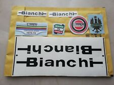 Kit adesivi compatibili Bianchi ser C1 old decal