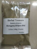 Pure organic Bhringraj Powder (Eclipta alba leaves) for Hair growth