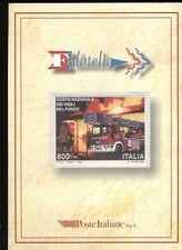 Repubblica 1999 Folder Vigili del Fuoco completo F562