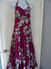 LADIES  MONSOON   STUNNING    SUMMER  FLORAL    DRESS  SIZE  14