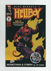 Hellboy Seed of Destruction #1 1994 High Grade Comic