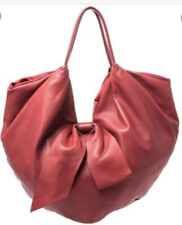 Valentino Red  Nappa Leather Folie Bow Hobo Bag🌟🌟🌟