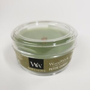 """WoodWick • APPLEWOOD • Mini 1.1 oz plastic container Scented mini Candle """"NEW"""""""