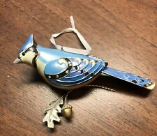 Hallmark Blue Jay ornament Beauty of the Birds 2012 collectible
