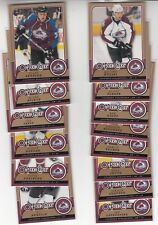 08/09 OPC Colorado Avalanche Team Set with RC and Inserts - Raycroft +