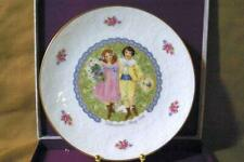 Royal Doulton 1976 Valentines Day Collector Plate In Box