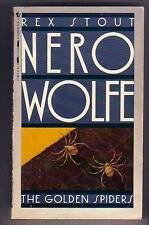 Stout, Rex The Golden Spiders (1989) Nero Wolfe Vg pb