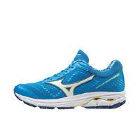 Mizuno Wave Rider 22 Women's Running Shoes Blue Marathon Jogging NWT J1GD183116