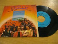 """7"""" Single Berluc Die Erde lebt Fieber AMIGA DDR Vinyl 4 56 548 Schallplatte"""