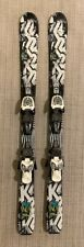 2017 - 112cmK2 Indy Junior Skis with Marker 4.5 bindings