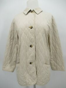 P4150 VTG Burberry Women's Quilted Nylon Jacket Size S