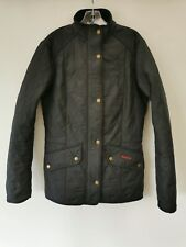Barbour Cavalary Polarquilt Ladies Puffer Jacket Size 10 UK Small S Coat Top
