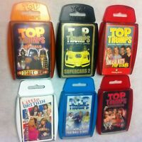 Top Trumps Cards Various Sets - used good condition