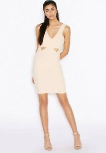 New Trendy Ariana Grande For Lipsy Cut Out Plunge Bodycon Dress For Women